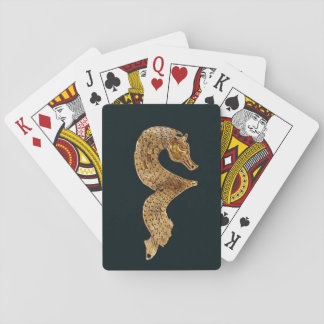 Altes Seepferd-Spielkarten Kartendeck