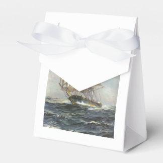 Altes Segelschiff Geschenkschachtel