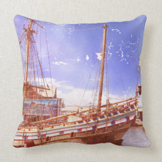 Altes Segelschiff Kissen
