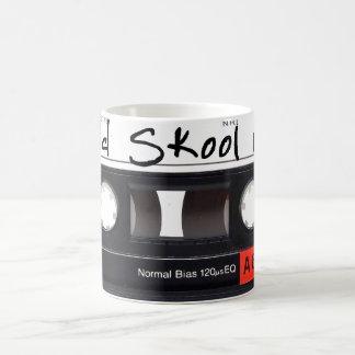 Altes Skool Mischungs-Weiß 11-Unze-klassische Kaffeetasse
