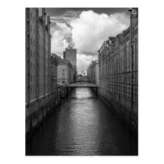 Altes Speicherstadt Hamburg Postkarte