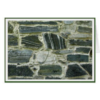 Altes Steinwand Encouragment justierbares Feld Karte
