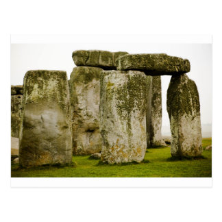 Altes Stonehenge, BRITISCHE Postkarte