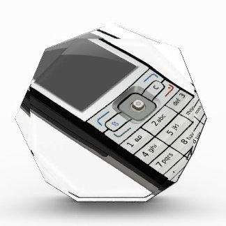 Altes Telefon Acryl Auszeichnung