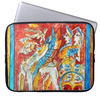 altes Wand-PA griechischer Mythologie Laptopschutzhülle