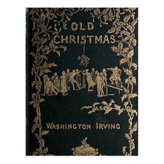 Altes Weihnachten - Washington Irving Postkarte