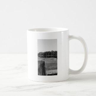 Altes Zeit-Fischen-Loch Kaffeetasse