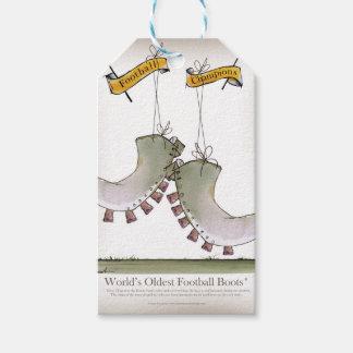 Älteste der Fußball-Stiefel der Welt Geschenkanhänger