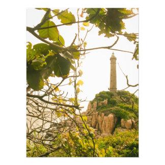 Ältestes höchstes Leuchtturm-Foto Vietnams Fotodruck