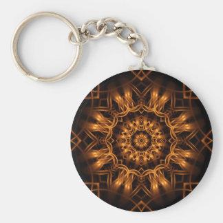 Altgold-kupfernes Medaillon Keychain Schlüsselanhänger