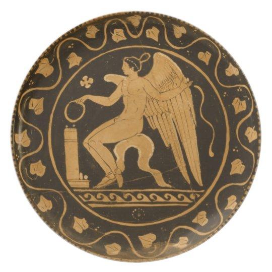 Altgriechische Platte Melaminteller