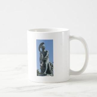 Altgriechischer Soldat in klassischem Griechenland Kaffeetasse