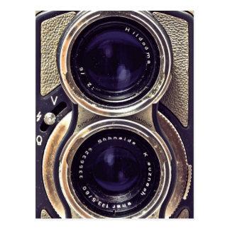 Altmodische Kamera Postkarte