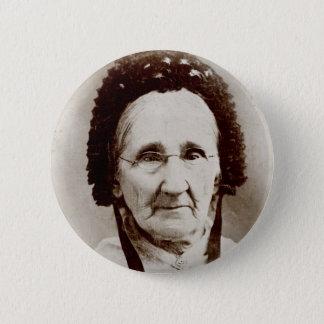 Altmodische Porträt-Großmutter Runder Button 5,7 Cm
