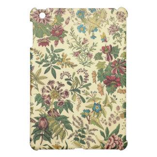 Altmodischer Blumenüberfluß iPad Mini Hülle