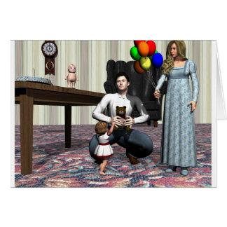 Altmodischer Geburtstag Karte