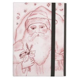 Altmodischer Weihnachtsmann im Rot