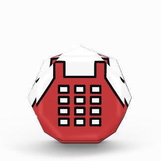 Altmodisches Telefon Acryl Auszeichnung
