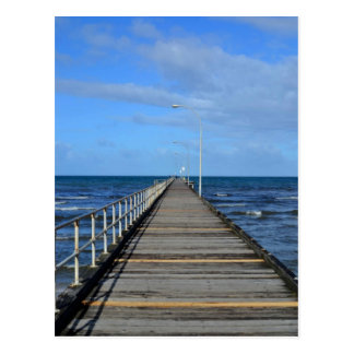 Altona-Strandpier-Küste Melboune Postkarte
