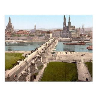 Altstadt Dresden im 19. Jahrhundert Postkarte