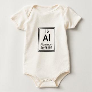 Aluminium 13 baby strampler