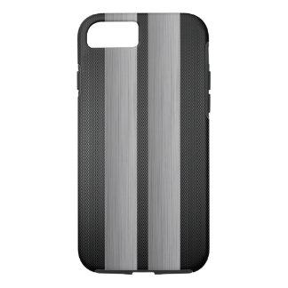 Aluminium- und Kohlenstofffaser schauen, laufend iPhone 8/7 Hülle