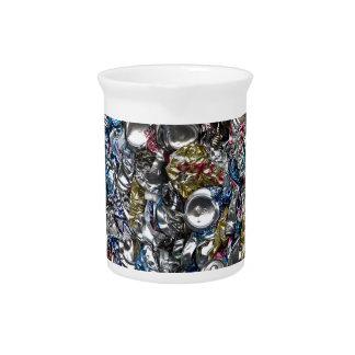 Aluminiumdosen, die gerecycelt werden getränke pitcher