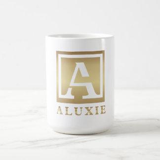 ALUXIE klassische weiße Tasse