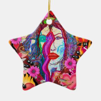 Alyce auf Märchenland Keramik Ornament