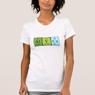 Alyce Namen-Shirt periodischer Tabelle T-Shirt
