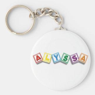 Alyssa Schlüsselanhänger