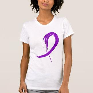 Alzheimer Krankheits-lila Band A4 T-Shirt