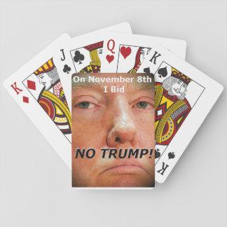 Am 8. November ich bot… KEINEN TRUMPF!  Spielkarten