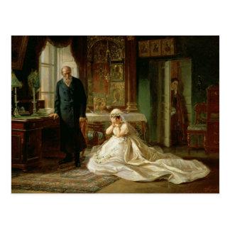 Am Altar 1870s Postkarte