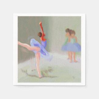 Am Ballett Papierservietten