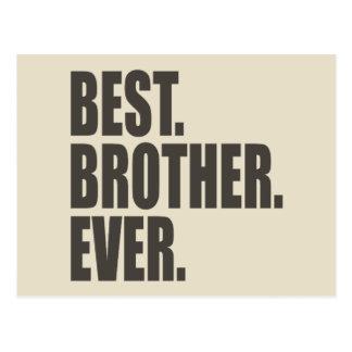 Am besten. Bruder. Überhaupt Postkarte
