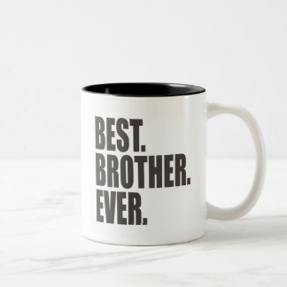 Am besten. Bruder. Überhaupt Zweifarbige Tasse