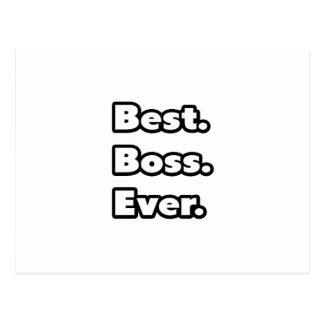 Am besten. Chef. Überhaupt Postkarten