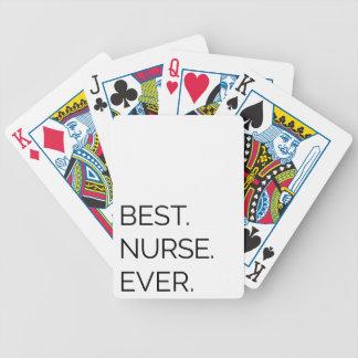 Am besten. Krankenschwester. Überhaupt Bicycle Spielkarten