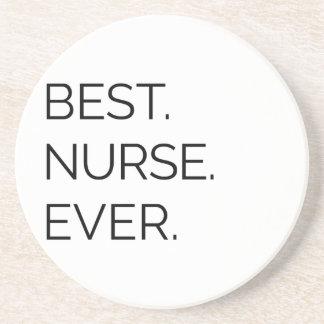 Am besten. Krankenschwester. Überhaupt Sandstein Untersetzer