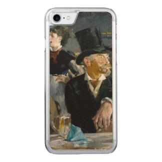 Am Café durch Edouard Manet Carved iPhone 8/7 Hülle