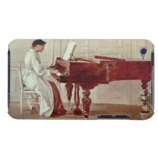 Am Klavier 1887 (Öl auf Leinwand) iPod Case-Mate Case