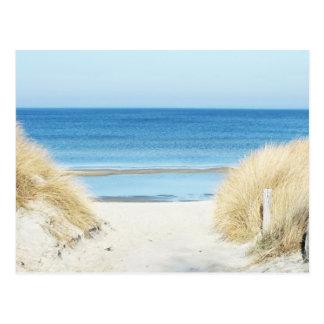 am strand postkarte