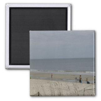 Am Strand Quadratischer Magnet