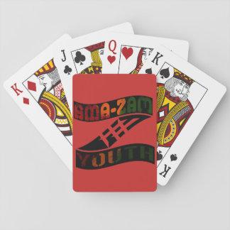 Ama-Zam Jugend-klassische Spielkarten