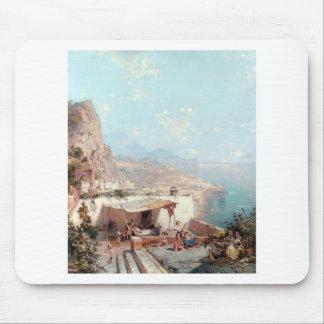 Amalfi, der Golf von Salerno durch Franz Richard Mousepad