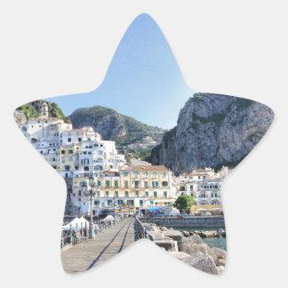 Amalfi-Italien-Hafen-Amalfiküste-dito Stern-Aufkleber