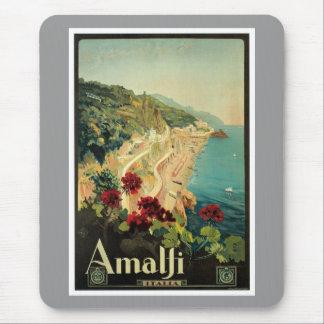 Amalfi Italien Italien Vintag Mauspad