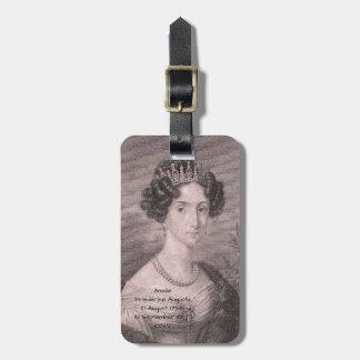 Amalie Friederike Augusta c1825 Gepäckanhänger