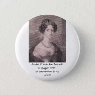 Amalie Friederike Augusta c1825 Runder Button 5,7 Cm